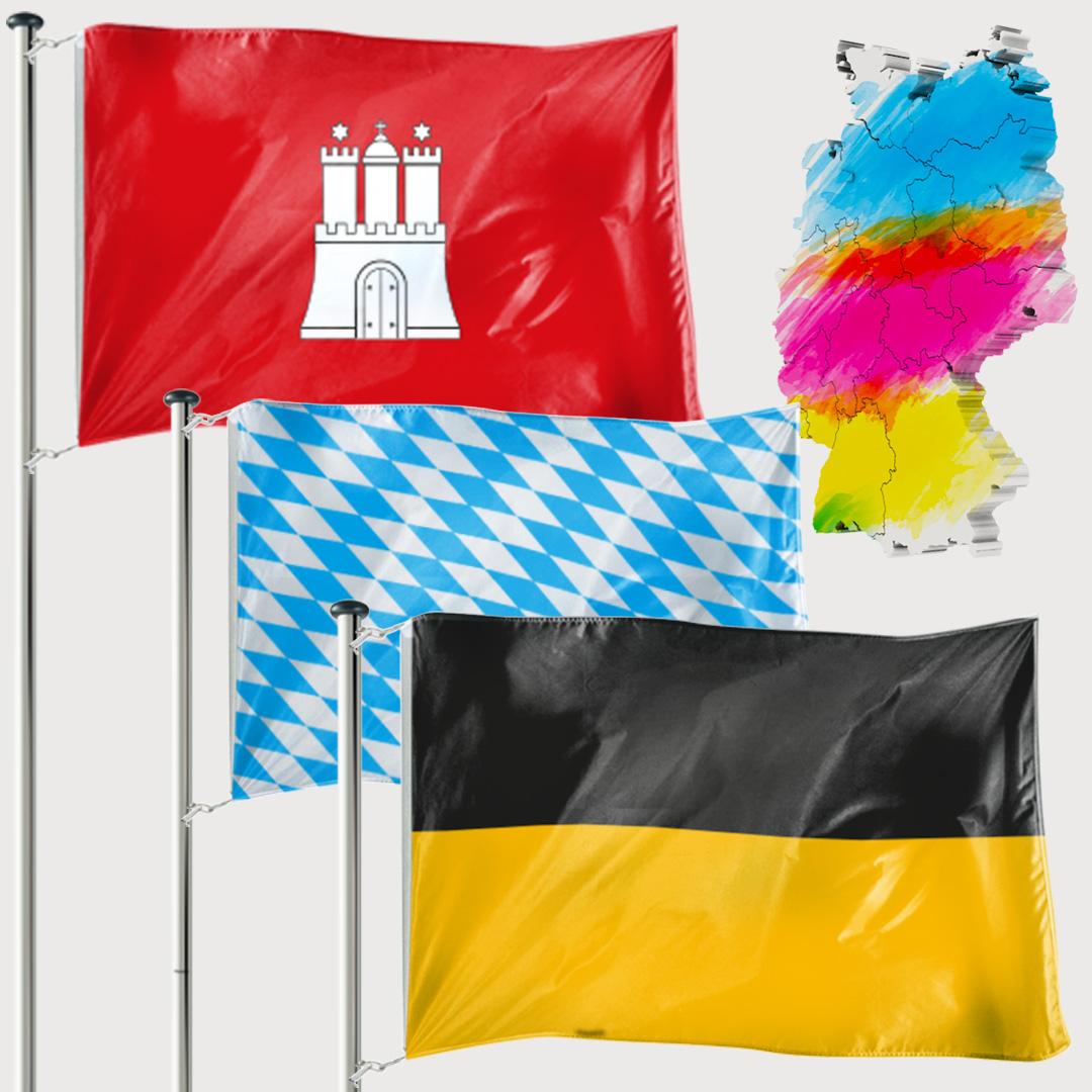 Bundeslandfahne - Kleinformat
