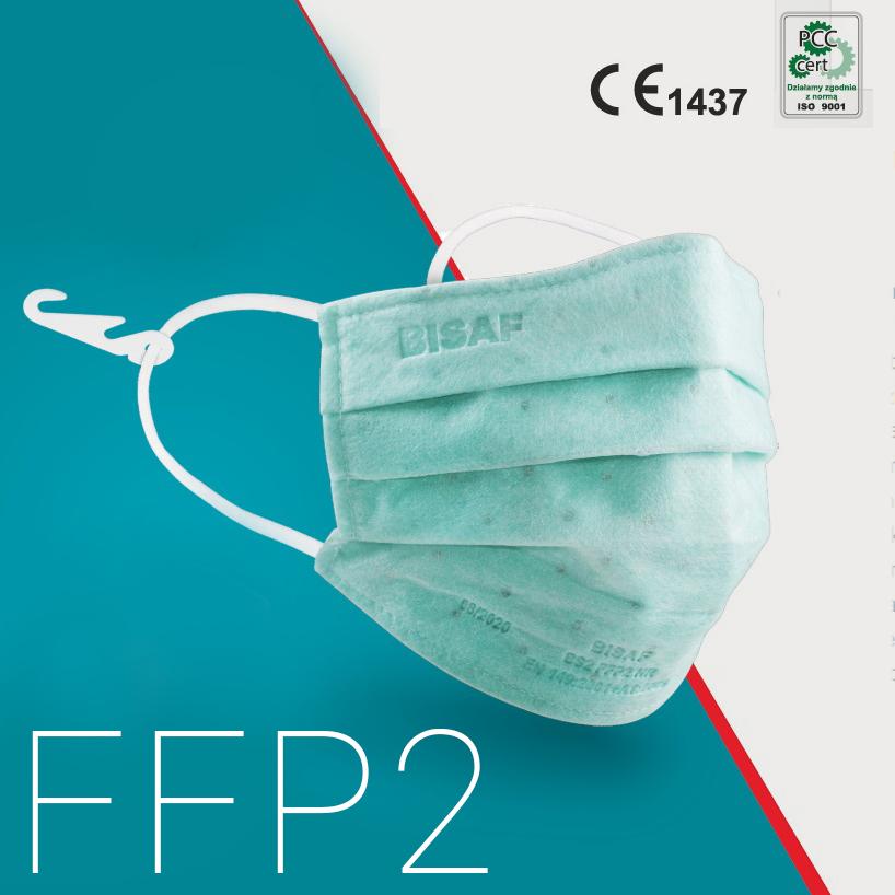 Mund-Nasen-Maske FFP2 3-Falten