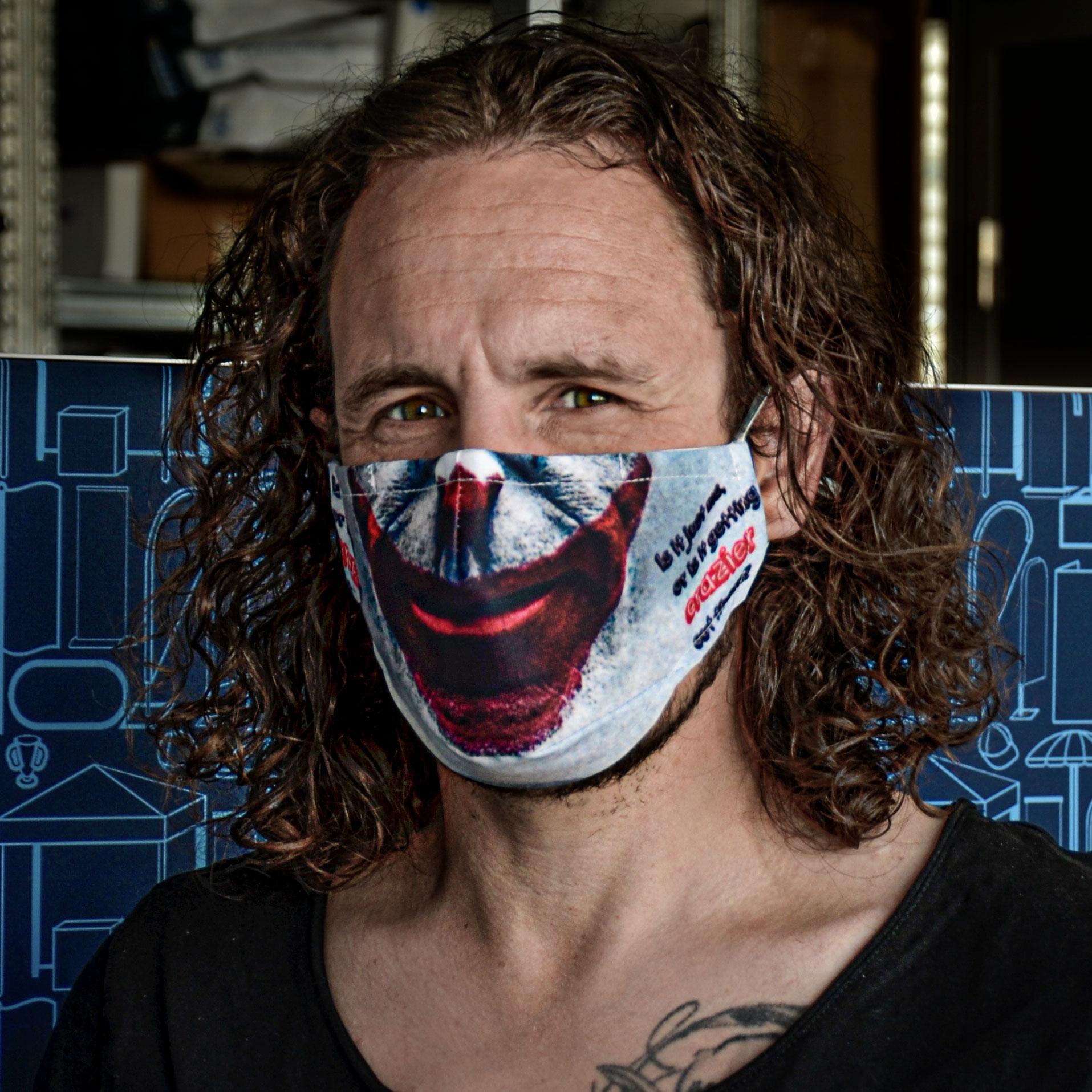Alltagsmasken Gesichtsform - selbst gestaltet (ab 5 Stk)