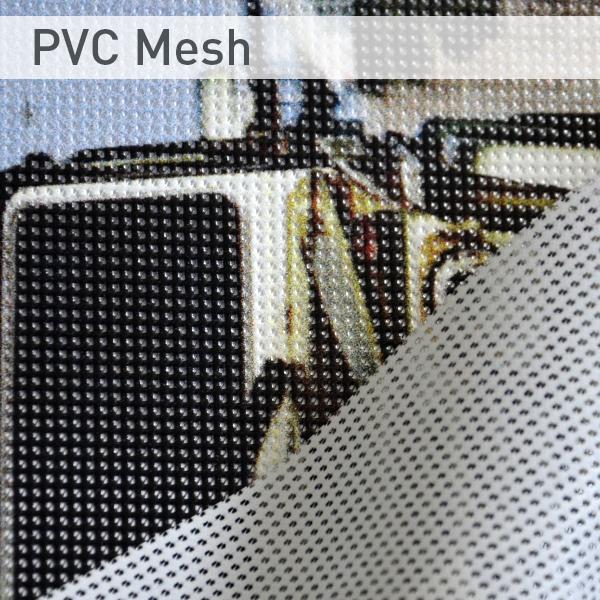 PVC-Bannermaterial-Bedruckte Werbebanner